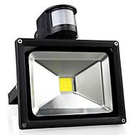baratos Focos-1pç 30 W Focos de LED Sensor infravermelho / Monitor de Detecção de Movimento Branco Quente / Branco Frio 85-265 V Iluminação Externa
