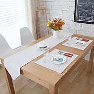 billige Bordduker-Rektangulær Mønstret Bordløpere , Lin Materiale Hotel Dining Table / Tabell Dceoration