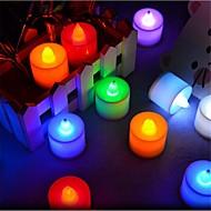 Luzes de LED em Vela T 1 LED Dip 300 lm Azul Amarelo Verde Rosa Vermelho K Decorativa AC 85-265 V