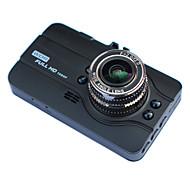 A11L 720p / HD 1280 x 720 / 1080p HD DVR de carro 140 Graus / 170 Graus Ângulo amplo 3 polegada LTPS Dash Cam com Visão Nocturna /