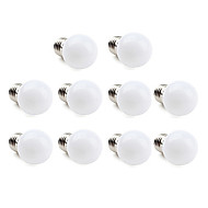billige Globepærer med LED-1W 70-100 lm E26/E27 LED-globepærer 12 leds SMD 3528 Varm hvit Kjølig hvit AC 220-240V