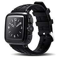 tanie Inteligentne zegarki-Inteligentny zegarek GPS Pulsometr Video Kamera/aparat Dźwięk Odbieranie bez użycia rąk Obsługa wiadomości Obsługa aparatu Rejestrator