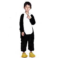 בגדי ריקוד ילדים פיג'מות קיגורומי פנדה חיה פיג'מה אוברול פלנל פליז שחור / לבן Cosplay ל בנים ובנות הלבשת בעלי חיים קָרִיקָטוּרָה פסטיבל / חג תחפושות