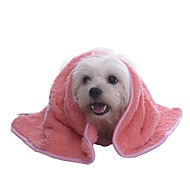 Lovely Embroidery Cartoon Warm Woollen Blanket  for Pets Dogs(Assorted Colours)