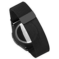 billiga Smart klocka Tillbehör-Klockarmband för Huawei Watch / Withings Activité / Withings Activité Steel Huawei Milanesisk loop Metall / Rostfritt stål Handledsrem