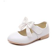 baratos Sapatos de Menina-Para Meninas Sapatos Couro Ecológico Primavera Verão Conforto Rasos para Dourado / Branco / Rosa claro