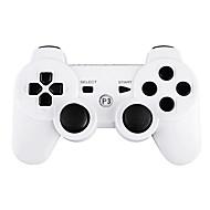 Playstation 3 / PS3 İçin Beyaz Çift Titreşimli Kablosuz Oyun Kolu