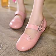 お買い得  女の子用靴-女の子 靴 レザー コンフォートシューズ フラット のために イエロー / レッド / ピンク