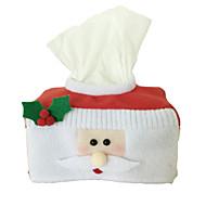 1pcs casa acessórios decoração feriado culinárias conjuntos de papel natal