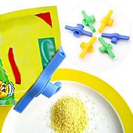 Sukker salt forseglingspose klemme utløpsdyse matrør forseglet klemlås med utløp