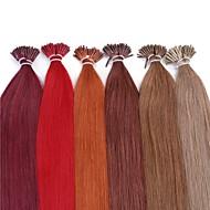 neitsi®20インチ1グラム/ sの25グラム融合のり私はレミーオンブル人間の髪の毛の拡張機能をスティック先端