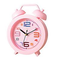 Moderno/Contemporâneo / Tradicional / Casual Férias / Aniversário Relógio de parede,Redonda Metal / Plástico Interior Relógio