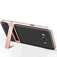 Capinha Para Samsung Galaxy J7 Prime J5 Prime Com Suporte Capa Traseira Côr Sólida Rígida TPU para J7 (2016) J7 Prime J5 Prime J5 (2016)