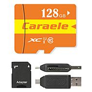Caraele 128GB マイクロSDカードTFカード メモリカード UHS-I U1 クラス10