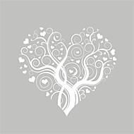 billiga Väggklistermärken-Romantik Mode Blommig Väggklistermärken Holiday väggdekaler Dekrativa Väggstickers, Vinyl Hem-dekoration vägg~~POS=TRUNC Vägg