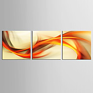 Canvas Set Abstrakti Fantasy Moderni Realismi,3 paneeli Kanvas Pystysuora Tulosta Art Wall Decor For Kodinsisustus