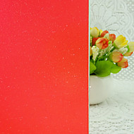 baratos Películas e Adesivos de Janela-Filme de Janelas e Adesivos Decoração Moderna Sólido PVC / Vinil Película para Vidros / Sala de Jantar / Quarto / Escritório / Quarto das Crianças / Sala de Estar