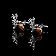 חפת ראש צבי עבור חפתים נחושות גברי חומר מתנות לחג מולד התכשיטים חיים בהווה של אב עם קופסא מתנה