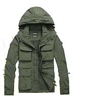 Homens Mulheres Jaqueta de Trilha Ao ar livre Inverno Prova-de-Água Térmico/Quente A Prova de Vento Isolado Confortável Blusas Acampar e