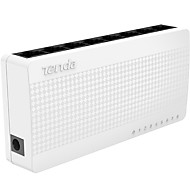 tenda s108 8 portas switch ethernet interruptor pequeno e inteligente de desktop 8 * 10 portas / 100 Mbps RJ-45 PoE switchs de rede