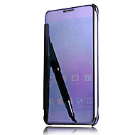 Etui Til Samsung Galaxy A5(2016) A3(2016) Auto Sluk Belægning Spejl Flip Fuldt etui Helfarve Hårdt PC for A9(2016) A7(2016) A5(2016)