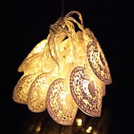 Valentinstag 10 führte weiße Metall Liebe Herzen Partei Hochzeit Partei Schnur Fee Licht kühlen