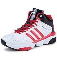 Feminino-Tênis-Conforto-Rasteiro-Preto Azul Verde Vermelho Branco-Couro Ecológico-Ar-Livre Para Esporte
