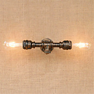 ac 220-240 80 e27 recurso pintura rústica / lodge para lâmpada incluída, parede de luz ambiente arandelas luz de parede