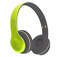 abordables Auriculares Tipo Casco-P47 Sobre el oído Sin Cable Auriculares Dinámica El plastico Teléfono Móvil Auricular Con control de volumen / Con Micrófono /