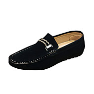 ieftine -Bărbați Pantofi PU Primăvară Toamnă Confortabili Mocasini & Balerini Pentru Casual Negru Gri Albastru