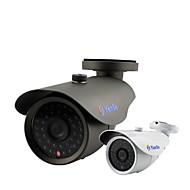baratos Câmeras para Circuito Fechado-yanse® 1000tvl 8 milímetros de metal de alumínio da câmera d / n CCTV IR 36 levou a segurança f278cf com fio à prova d'água