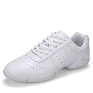 Dansesko(Hvid) -Kan ikke tilpasses-Flade hæle-Damer-Dansesko