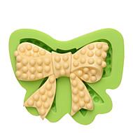 Skjønnhet bue silikon mold mold mat trygg gummi lim harpiks fudge smør nougat ost mugg farge tilfeldig