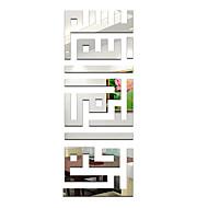 Worte & Zitate Wand-Sticker Spiegel Wandsticker Dekorative Wand Sticker,Vinyl Stoff Haus Dekoration Wandtattoo