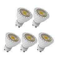 gu10 gx5.3 led spotlight mr16 1 cob 250lm varm hvit kald hvit 2700-6500k dekorativ ac 220-240v