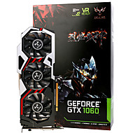 Colorful® Video Graphics Card GTX1060 iGame1060 U-6GD5 Top 1594-1809MHz/8008MHz 6GB/192bit GDDR5