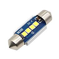 2x-festoon-31mm-4-smd-3030-cnabus-hvid-led-bil-dome-lys-pære-3021-6428-de3175 12-24v