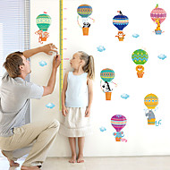 cheap Wall Stickers-Animals Fashion Cartoon Wall Stickers Plane Wall Stickers Decorative Wall Stickers Height Stickers, Paper Home Decoration Wall Decal Wall