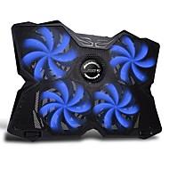 fn-30 azul portátil levou luz portátil poderoso arrefecimento mat cooler pad para MacBooks laptop 15-17 polegadas
