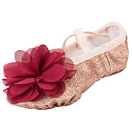 Kan ikke spesialtilpasses-Barn-Dansesko-Ballett-Stoff-Flat hæl-Gull