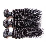 top quality brazilian virgin hair kinky curly style 3pieces 300g lot original 12a brazilian human hair weaves bundles natural black color