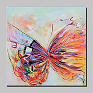 Hand-Painted Modern Abstract Butterfly Animal Oil Paintings On Canvas Wall Art Picture For Home Decoration Ready To Hang
