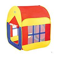 ちびっ子変装お遊び テント&トンネル遊具 おもちゃ 円筒形 家 アイデアジュェリー 男の子 女の子 小品