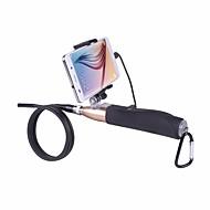 hd 1m handheld fio rígido câmera endoscópio android com lente 7 milímetros usb 6LED tubo de cobra impermeável boroscópio tubulação
