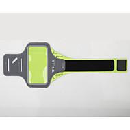 Opaska na ramię Torba na telefon komórkowy na Badminton Bieganie Fitness Sportovní taška Wielofunkcyjne Torba do biegania iPhone 8/7/6S/6 Wodoodporny materiał Pomarańczowy Czerwony Zielony