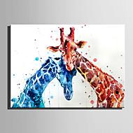 Zvíře Moderní,Jeden panel Plátno Vertikálně Tisk Art Wall Decor For Home dekorace
