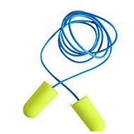 旅行用耳栓 携帯式 のために 旅行用睡眠グッズ スポンジ