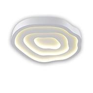 billige Taklamper-OYLYW Takplafond Omgivelseslys Malte Finishes Metall Mini Stil 90-240V Varm Hvit / Hvit LED lyskilde inkludert / Integrert LED