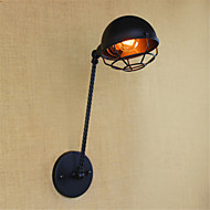 billige Vegglamper med LED-Land / Retro Rød LED Vegglampe Metall Vegglampe 110-120V / 220-240V 4W