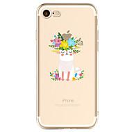 billiga Mobil cases & Skärmskydd-fodral Till Apple iPhone X / iPhone 8 Plus / iPhone 7 Mönster Skal Leka med Apple-loggan Mjukt TPU för iPhone X / iPhone 8 Plus / iPhone 8